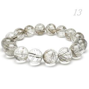 天然石 シルバールチルクォーツAAA 13.0ミリ 丸玉ビーズ 1粒 |luz