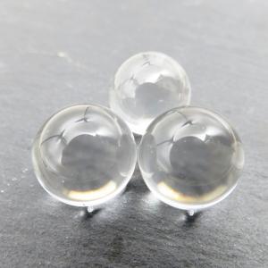 おすすめ! 天然無垢 水晶丸玉 AAA 1個販売...の商品画像
