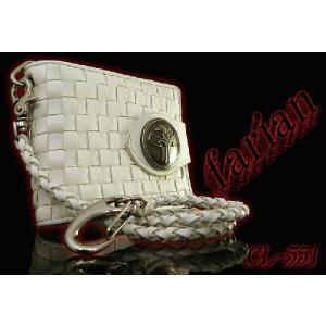 二つ折り財布 メンズ二つ折り財布 メンズ短財布 farian CL-551 白|lvx200807