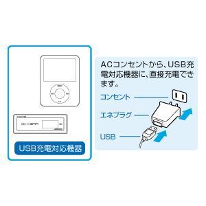 USB-ACアダプタ GH-ACC-USB ブラック USB周辺機器 送料無料 GREEN HOUSE グリーンハウス プレゼント付|lvx200807|02