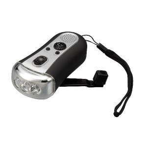手回しラジオ LEDライト GH-FLL3DR アウトドアー 災害用 送料無料 GREEN HOUSE グリーンハウス プレゼント付 GH-FLL3DR|lvx200807