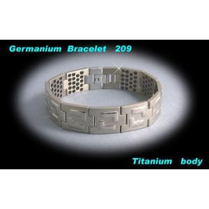 ゲルマニウム ゲルマニウムブレスレット 訳あり HJ 209粒|lvx200807