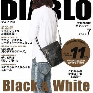 カジュアルバッグ ショルダーバッグ ホワイトライン DIABLO KA-2098|lvx200807