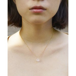 ネックレス 1 シロツメクサ lwf-odaka
