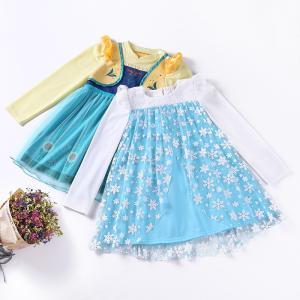 可愛いディズニープリンセスのコスチュームドレスです。  着心地の良い軽い素材のワンピースタイプなので...