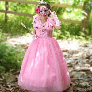 ハロウィンのコスプレ衣装です。  お姫様になりたいお子様の夢を叶える人気のセット品です♪   【セッ...