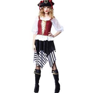 b512cb8195718f ハロウィン衣装 女海賊 コスチューム ワンピース キャラクター Halloween女性 大人用/レディース 衣装変装cosplay 船長装 宴会芸仮装 変装