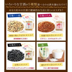 甘酒 米麹 砂糖不使用 有機玄米 あまざけ 150g×2個 送料無料 ノンアル コール|lwhana|14