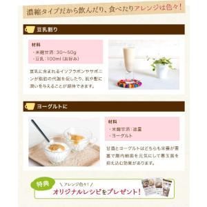 甘酒 米麹 砂糖不使用 有機玄米 あまざけ 150g×2個 送料無料 ノンアル コール|lwhana|08
