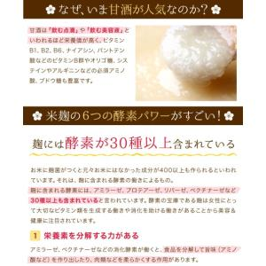 甘酒 米麹 砂糖不使用 有機玄米 あまざけ 150g×2個 送料無料 ノンアル コール|lwhana|10