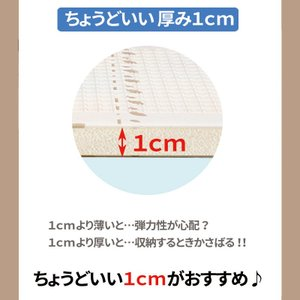 (ただいま決算セール中) プレイマット 折りたたみ 195×147cm リバーシブル マット ベビーマット キッズマット かわいい 大判 軽量 防水 LS-BMAT01 lysin 15
