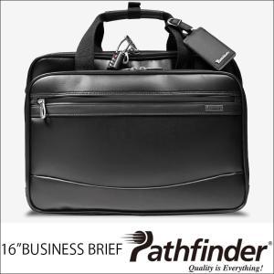 (QUOカード1000円分プレゼント+ポイント10倍) パスファインダー ビジネス バッグ バック ブリーフケース メンズ ブラック 黒 PF5403B A4サイズ|lysin