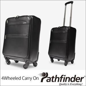 (QUOカード1000円分プレゼント+ポイント10倍) パスファインダー スーツケース キャリー バッグ バック ケース メンズ ブラック 黒 PF5418B|lysin
