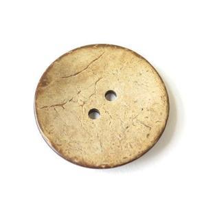【手芸材料 素材】大きなココナッツボタン