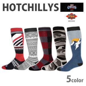 HOT CHILLYS ホットチリーズ メンズ フィエスタス ソックス 男性用 冬 スキー スノボ ...