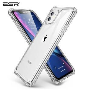 ESR iPhone11Pro 2019 5.8 インチ 透明ケース TPUバンパー 背面PC材質 ...