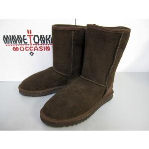MINNETONKA Short Classic Pug Boot 3678|m-bros