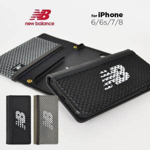 65d0bd0295 New Balance iPhone8 iPhone7 iPhone6s iPhone6「メッシュ手帳ケース」 ニューバランス スマホケース アイフォン ケース iPhone