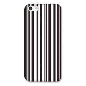 iPhone5C専用 ストライプ柄ケース