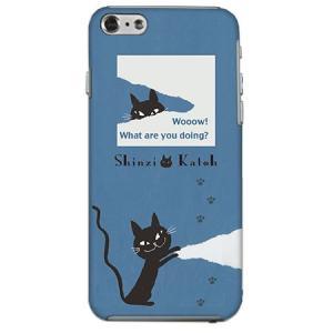iPhone 6s iPhone6 (4.7インチ)専用 shinzikatoh WHAT黒猫 m-channel