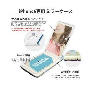 iPhone 6s iPhone6 (4.7インチ)専用 シンジカトウ shinzikatoh Disney ディズニー ミラーケース ドナルド WHITE|m-channel|02