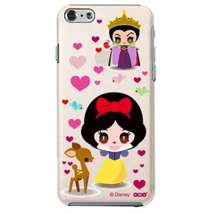 iPhone6 クリアケース Disney ディズニー 白雪姫&クイーン|m-channel