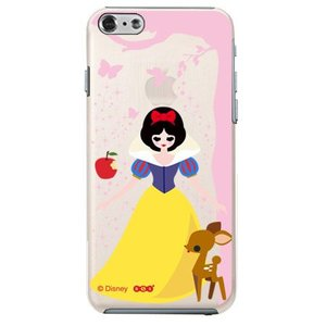 iPhone6 クリアケース Disney ディズニー 白雪姫|m-channel
