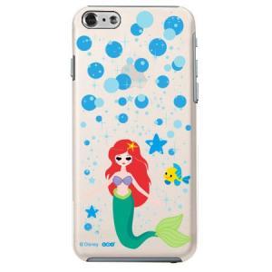 iPhone6 クリアケース Disney ディズニー アリエル|m-channel