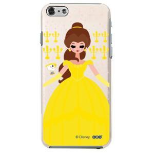iPhone6 クリアケース Disney ディズニー ベル|m-channel