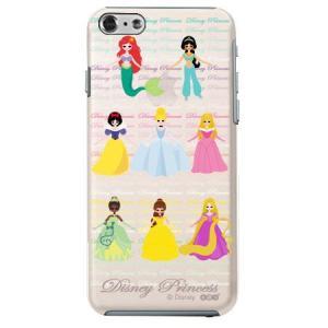 iPhone6 クリアソフトケース Disney プリンセス|m-channel
