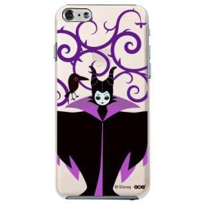 iPhone6 クリアソフトケース Disney マレフィセント|m-channel