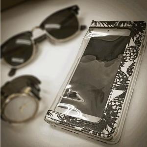 iPhone 6s 6 (4.7インチ) 専用 BLEA ブレア maiko sano 佐野真依子 ブランド クリア手帳ケース|m-channel