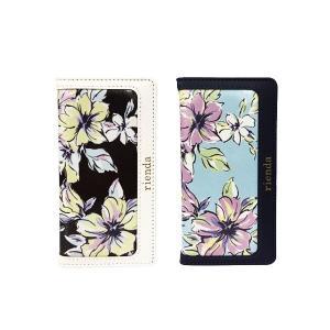 iPhone6 iPhone6S 専用 【rienda/リエンダ】 「ペールフラワー (花柄)」手帳型 レザーケース|m-channel