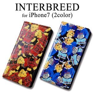 iPhone7 INTERBREED インターブリード 手帳型ケース m-channel