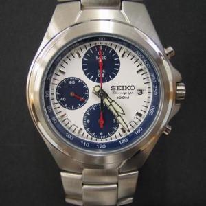腕時計!セイコークオーツ クロノタイプ(文字盤/白)|m-channel