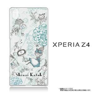 Xperia Z4(SO-03G/SOV31/402SO)専用クリアケース Alice アリス|m-channel
