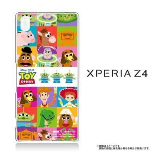 Xperia Z4(SO-03G/SOV31/402SO)専用 クリアケース Disney トイストーリー TOYSTORY ALL CAST|m-channel