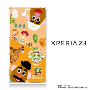 Xperia Z4(SO-03G/SOV31/402SO)専用 クリアケース  Disney トイストーリー TOYSTORY ポテトヘッド|m-channel