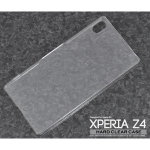 Xperia Z4用ハードクリアケース|m-channel