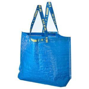 IKEA/イケア FRAKTA キャリーバッグ M ブルー ...