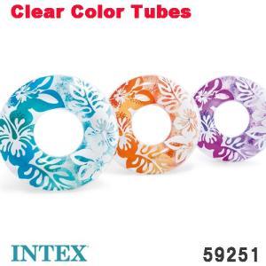 メール便で送料無料!  花柄のカラフルな浮き輪。 カラー  ブルー、ピンク、オレンジ サイズ  91...