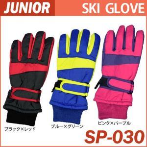 ジュニアスキーグローブ/ジュニア用スキー手袋/子供用スキーグローブ/子ども用防寒手袋/メール便で送料...