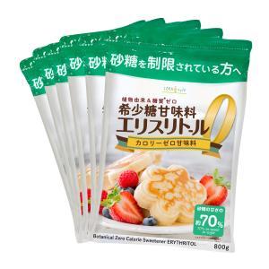 エリスリトール 1kg×6袋  yahoo!&Amazonランキング1位商品 カロリーゼロ 天然甘味...
