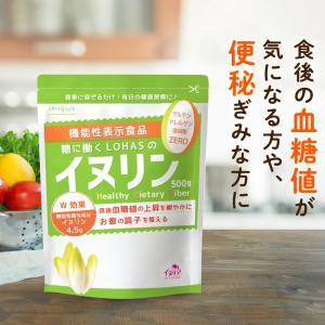 イヌリン 500g 水にもさっと溶ける顆粒タイプ 菊芋 同組成の水溶性 食物繊維 inulin