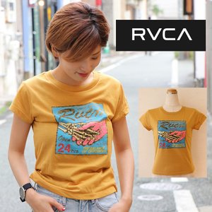 RVCA  ルーカ トップス Tee  BIG DEAL Tシャツ AI043-203 |m-i-e