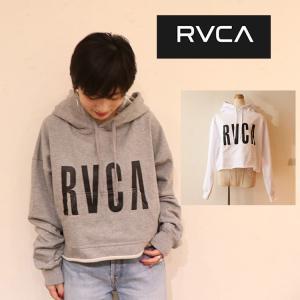 RVCA  ルーカ トップス パーカー  カットオフ コンパクトサイズ AJ043013 FRESHMAN PULL OVER|m-i-e