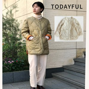 TODAYFUL LIFE's Quilting Down Jacket 11920103 キルティングジャケット |m-i-e
