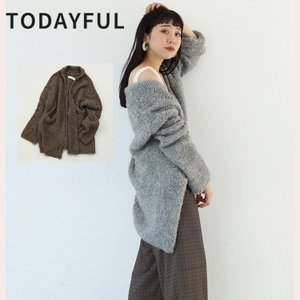 TODAYFUL LIFE's Boucle Knit Cardigan 11920502 カーディガン ブークレ|m-i-e