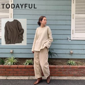 TODAYFUL LIFE's Boyfriend Cutoff Knit 11920543 ニット|m-i-e