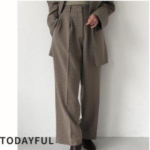 TODAYFUL LIFE'S Centerpress Trousers   11920705|m-i-e